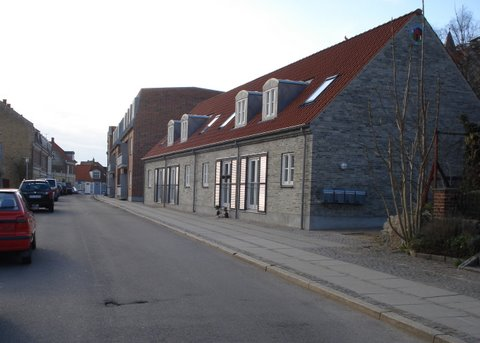 En skyskraber i Kalundborg