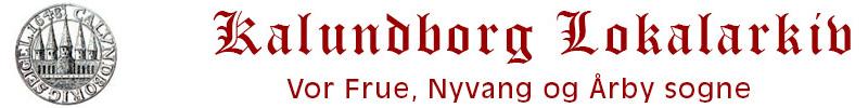 Kalundborg Lokalarkiv Logo